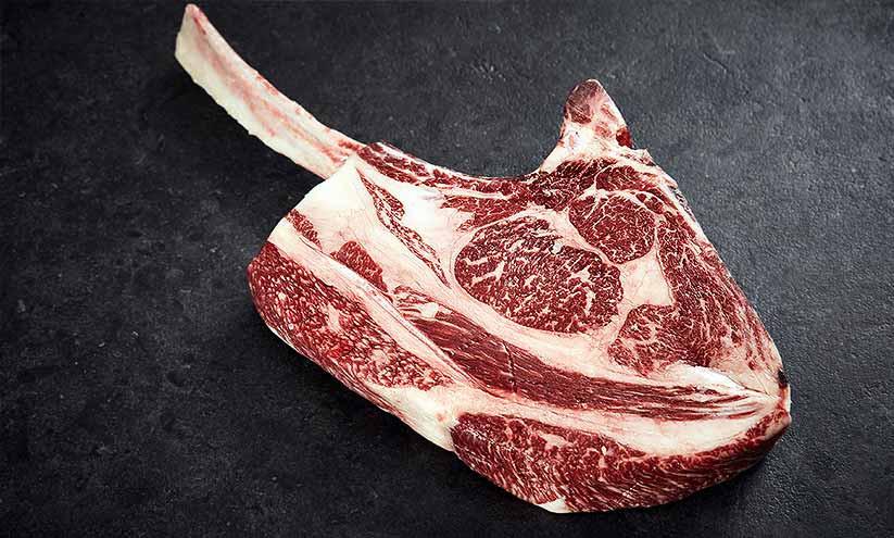 "WFB Wagyu Tomahawk Steak ""Ribeye am Knochen"""