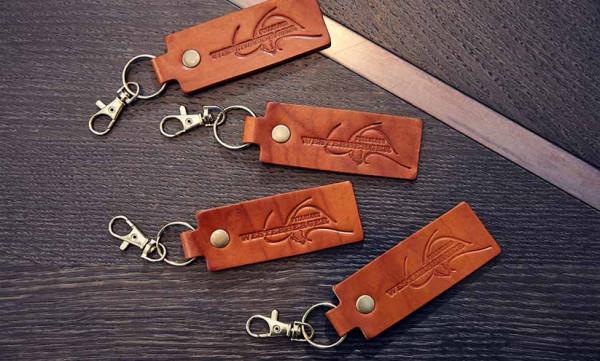 WFB Wagyu Leder Schlüsselanhänger